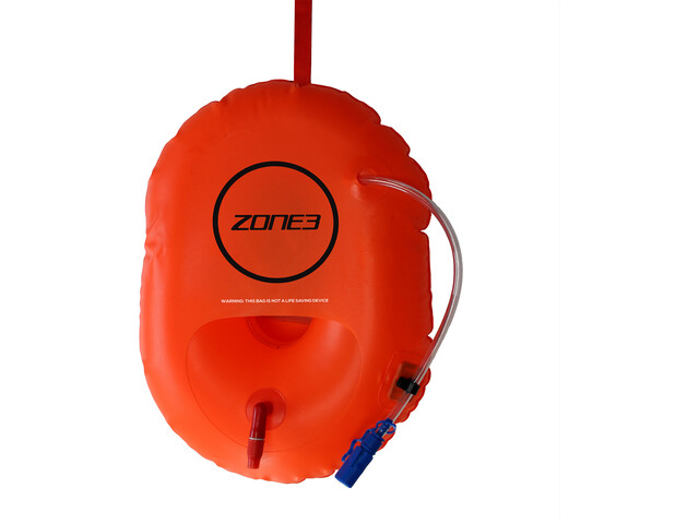 Zone3 Swim Safety Boya/Control Hidratación, hi-vis orange